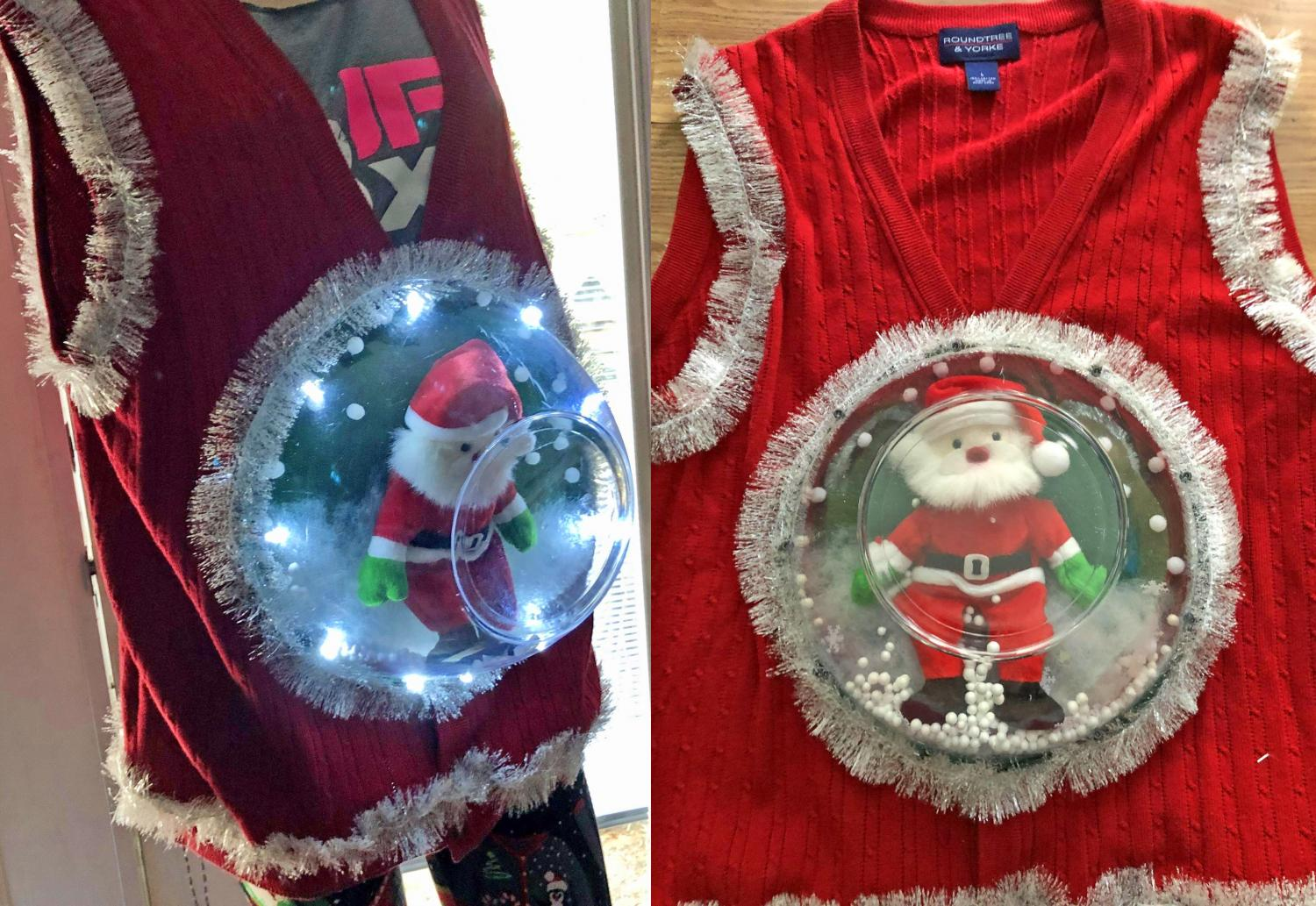 Snow Globe Ugly Christmas Sweater