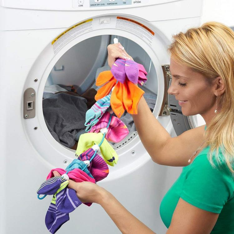 Sock Dock: Sock Organizer and Easy Sock Washer