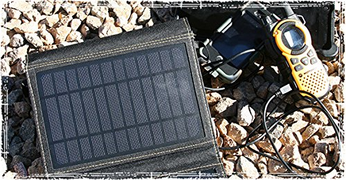 The SunJack Solar Charger - Power Your USB Devices Outdoors