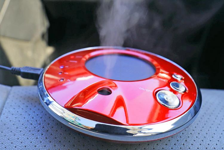 Solar Powered Car Humidifier and car diffuser