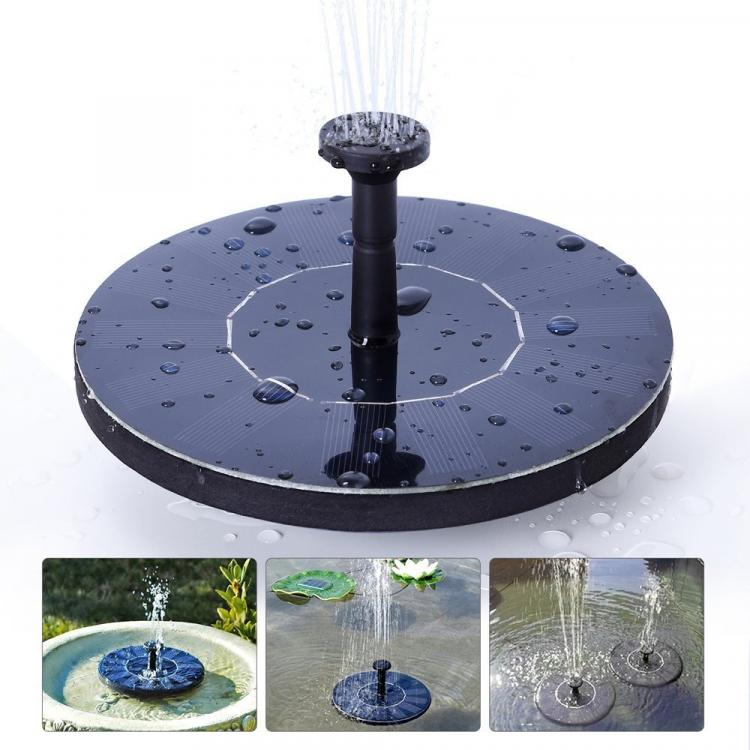 check out the solar powered garden fountain in action via the video below - Solar Powered Fountain