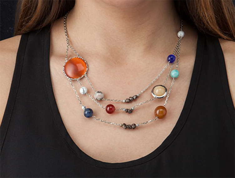 Solar System Necklace - Planets Necklace