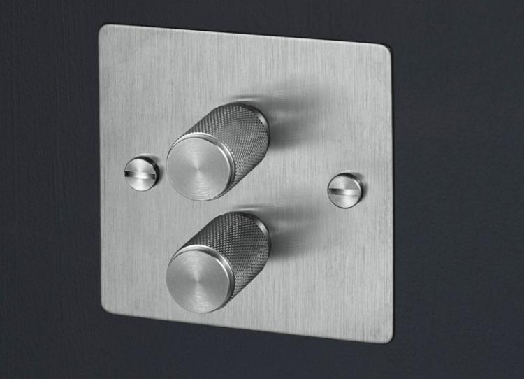 Solid Metal Light Dimmer Knob