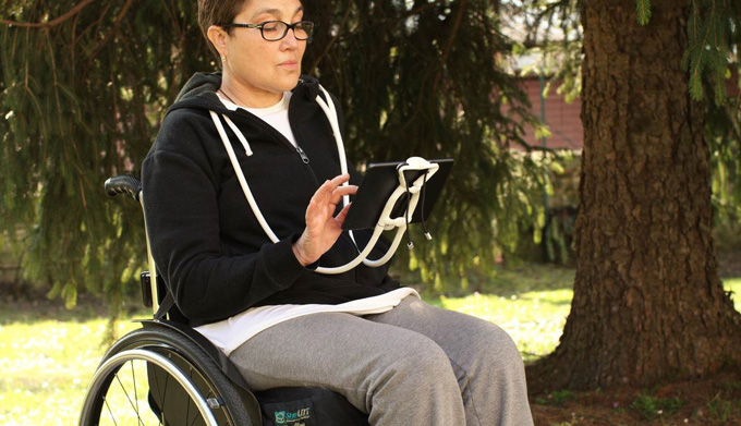 Sospendo Hands Free Phone/Tablet Holder - Holds Your Phone or tablet in front of your face