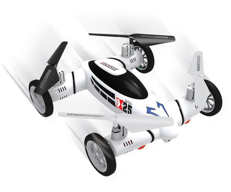This Drone Is Part RC Car Part Flying Quadcopter