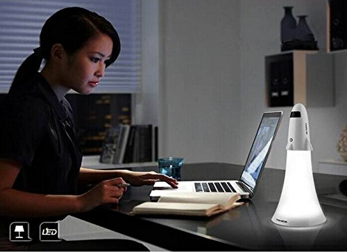 Spaceship Rocket Desk Lamp and Flashlight