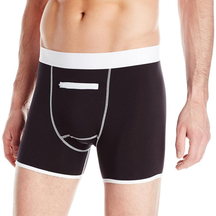 Speakeasy Briefs - Boxer Briefs With Front Pocket - Secret Stash Pocket Boxer Briefs