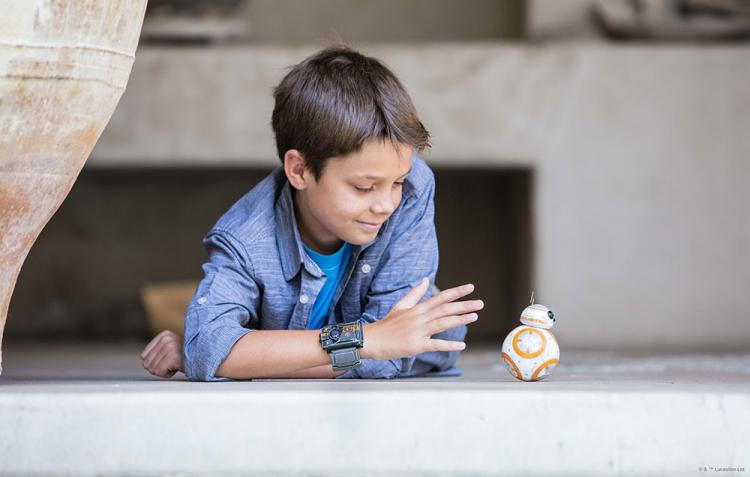 Sphero Force Wristband - Wearable wrist band that controls your sphero bb-8 droid robot using hand gestures