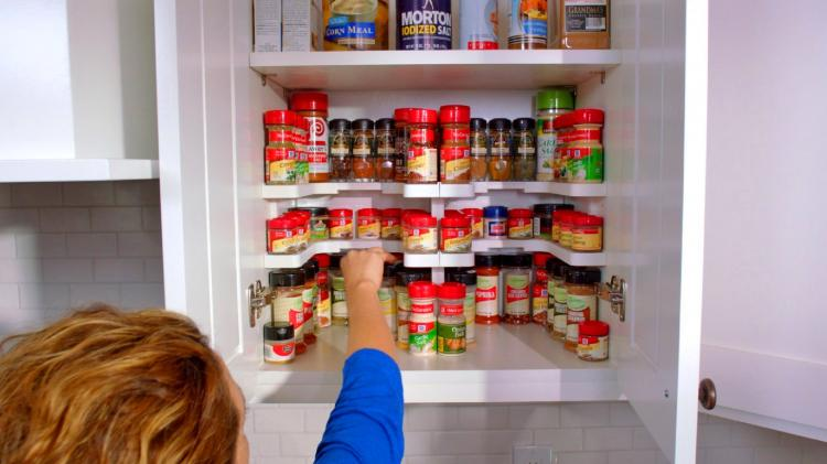 Spicy Shelf Cabinet Organizer - organize your spices - organize your medicine cabinet