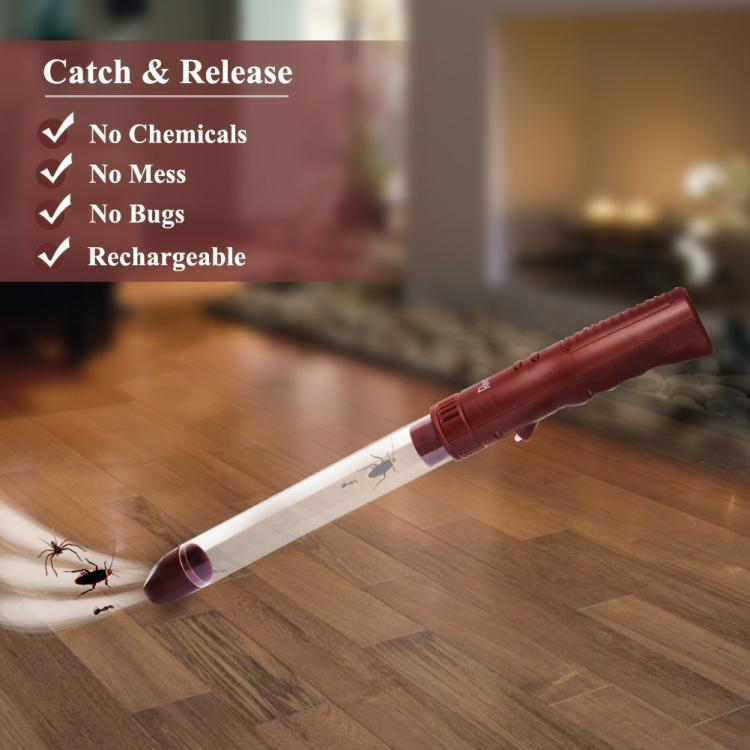 Mini Bug Vacuum - Spider Catching Wand Vacuum