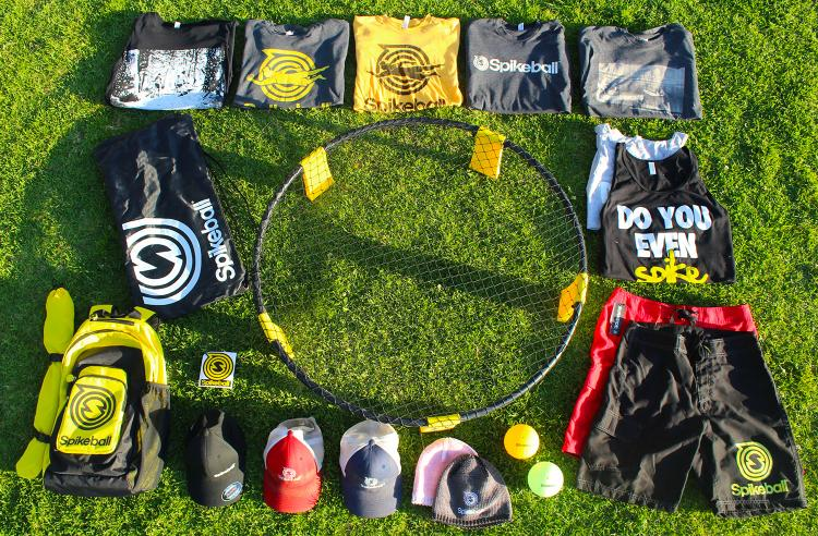 Spikeball Sport - Spike Ball yard game - mix of volleyball and foursquare