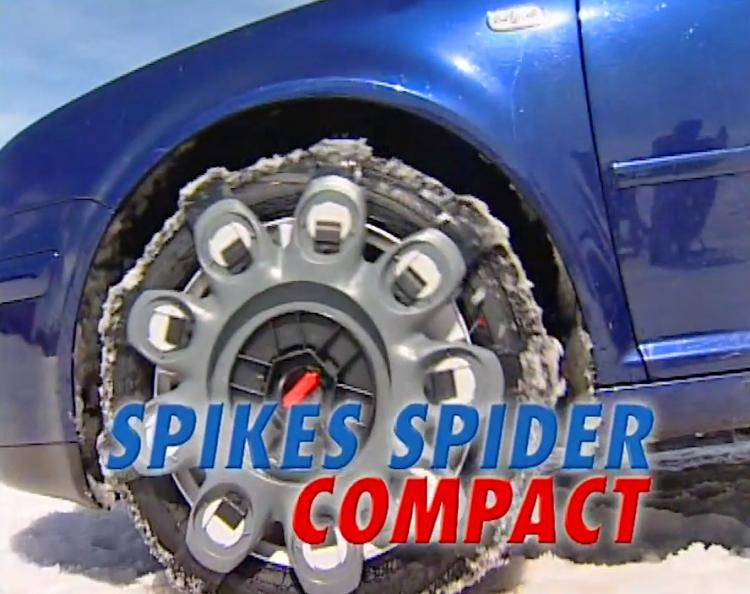Spikes Spiders Snap-on snow tire chains