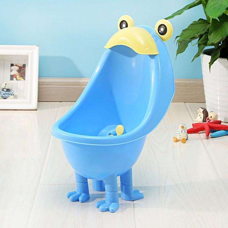 Spinning Toy Funny Training Urinal - Frog shaped whirling spinner kids training urinal