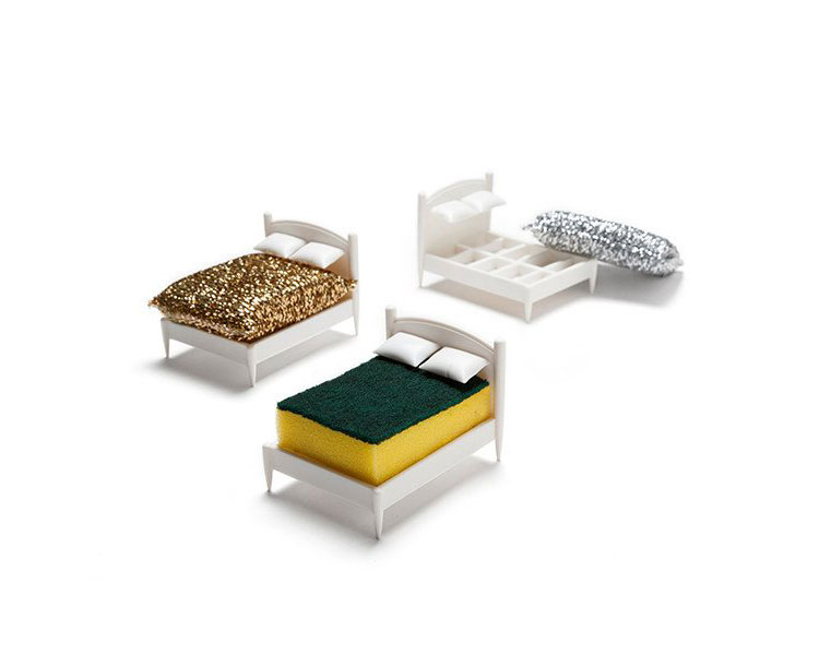 Mini Bed Sponge Holder - Clean Dreams Sponge Bed