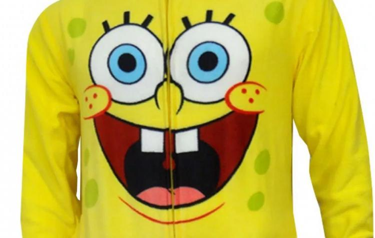 Spongebob SquarePants Adult Sized Onesie Pajamas