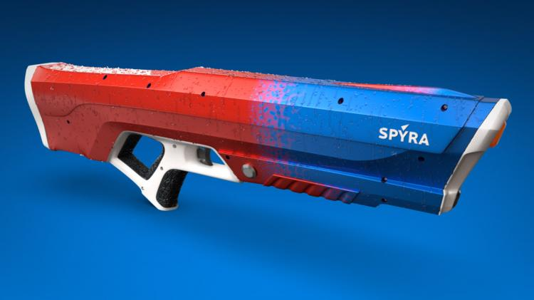 Spyra One: Adult Water Gun Shoots Individual Bullets Of Water - Electronic Full Pressure Water Gun - Auto-filling water gun