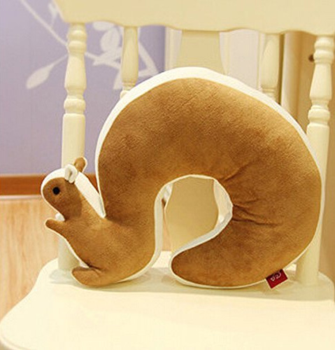 Squirrel Shaped Travel Neck Pillow