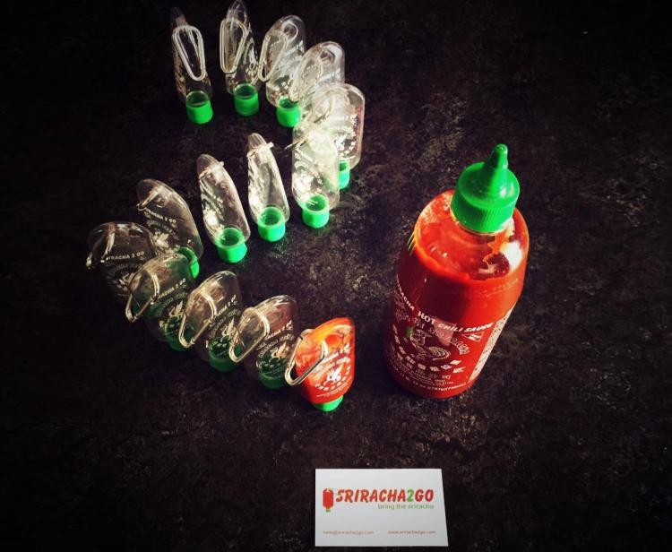 Sriracha2Go Tiny Refillable Sriracha Bottle