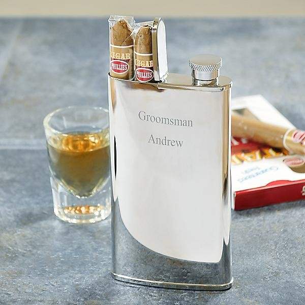 flask and cigar holder combo - Cigar Holder