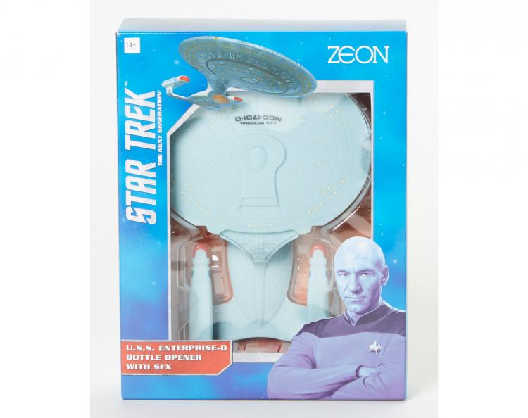Star Trek Enterprise Talking Bottle Opener