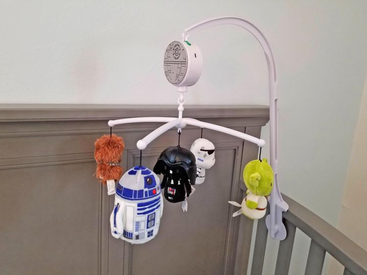 Star Wars Baby Mobile - Hanging Star Wars Characters Crib Mobile