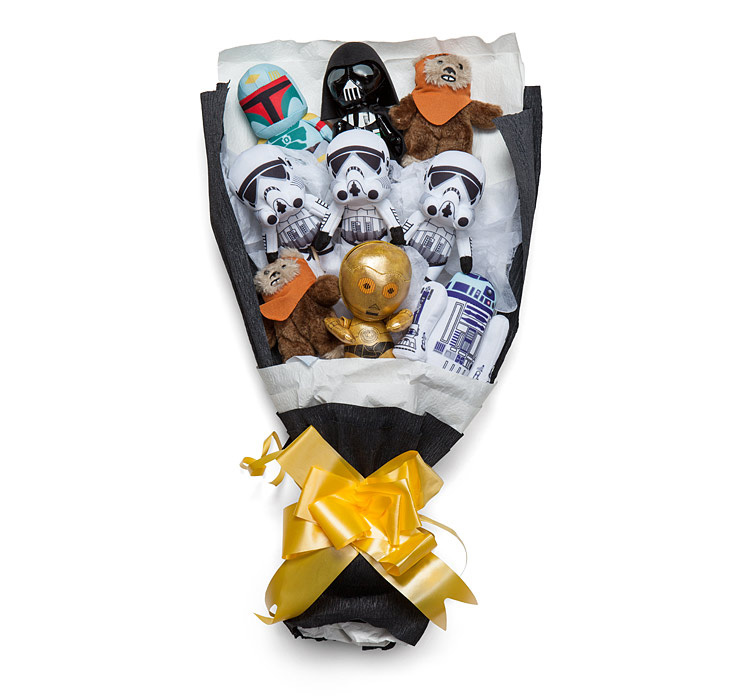 Star Wars Valentine's Day Flower Bouquet