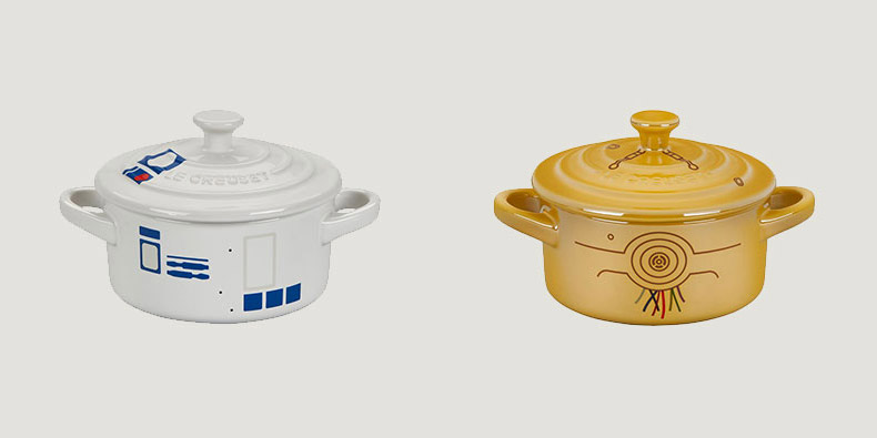Star Wars Cookware Set - Geeky cooking set - C3PO Cocotte