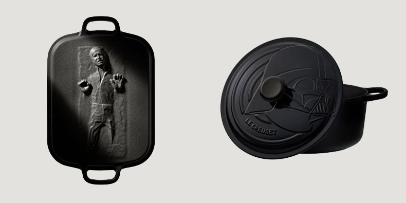 Star Wars Cookware Set - Geeky cooking set - Han Solo Roaster