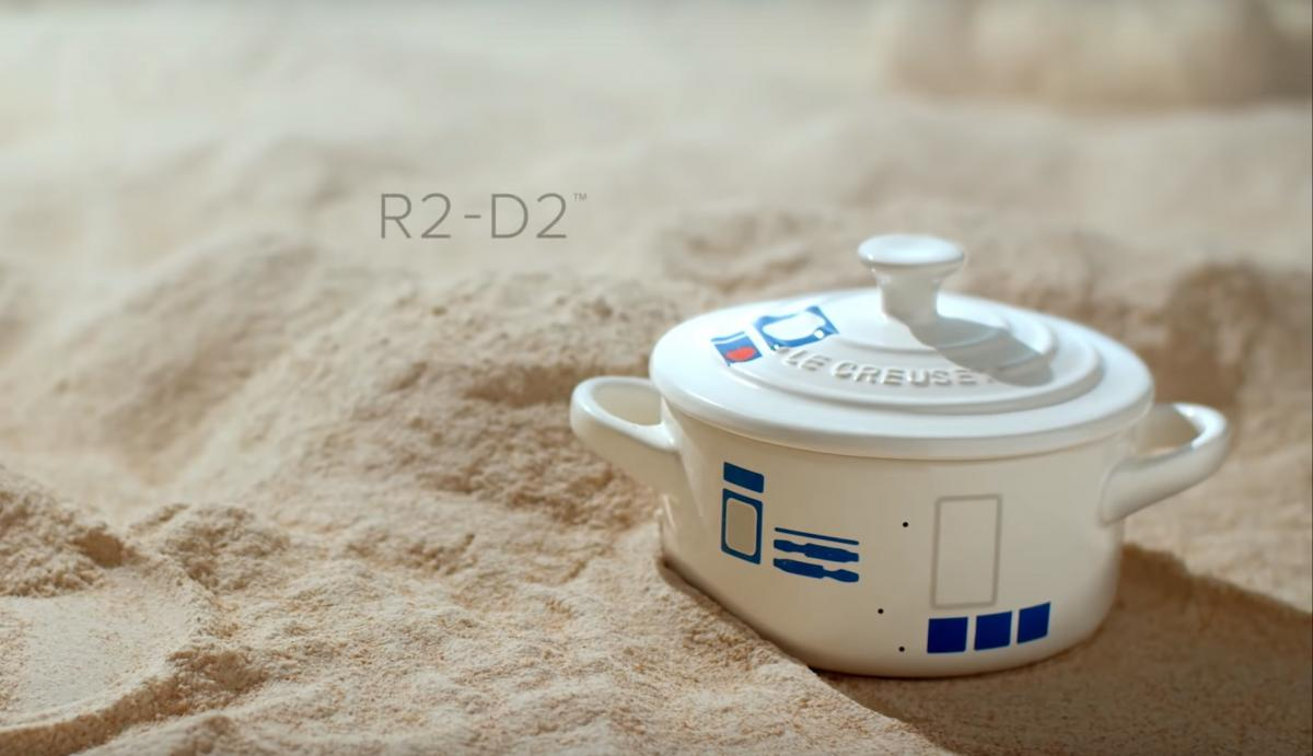 Star Wars Cookware Set - Geeky cooking set - R2-D2 Cocotte