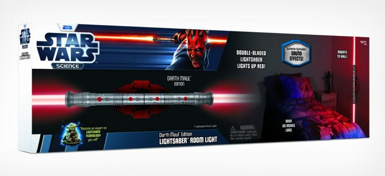 Star Wars Darth Maul Lightsaber Night Light