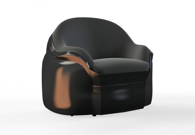Star Wars Darth Vader Luxury Armchair - Darth Vader Evil Villain Chair