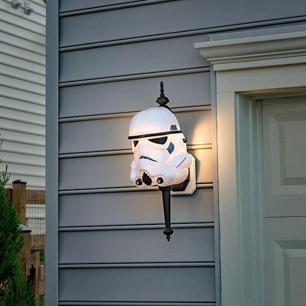 Star wars darth vader exterior light cover star wars stormtrooper exterior light cover workwithnaturefo