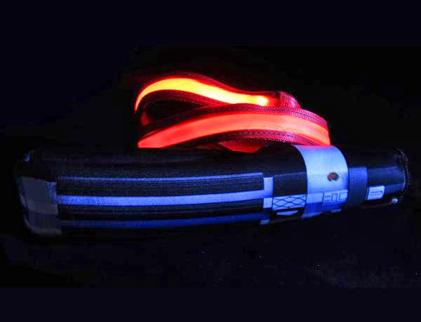 Star Wars Light-Up Lightsaber Dog Leash - Illuminated Geeky Star Wars Light Saber Dog Lead