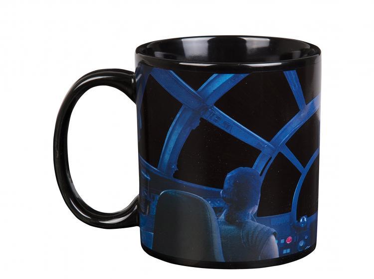 Star Wars Millennium Falcon Heat Changing Coffee Mug