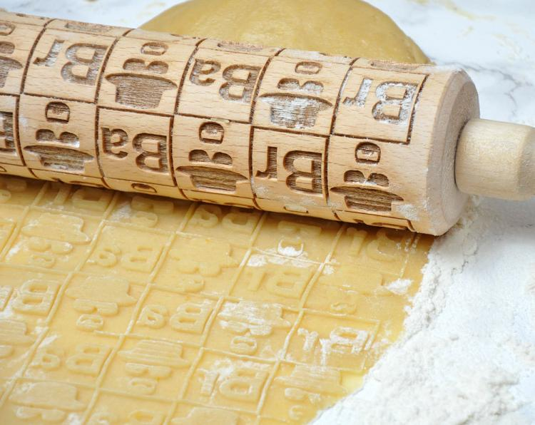 Breaking Bad Themed Cooking Rolling Pin - Breaking Bad Cookies