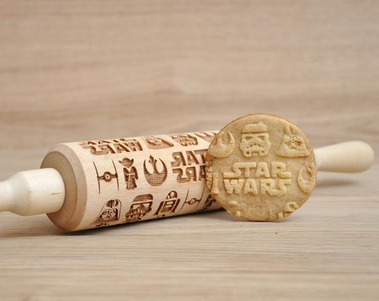 Star Wars Themed Cooking Rolling Pin - Star Wars Cookies