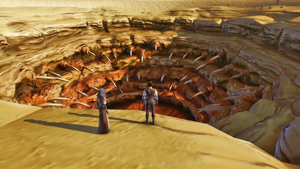 Star Wars Sarlacc Pit - The Great Pit Of Carkoon