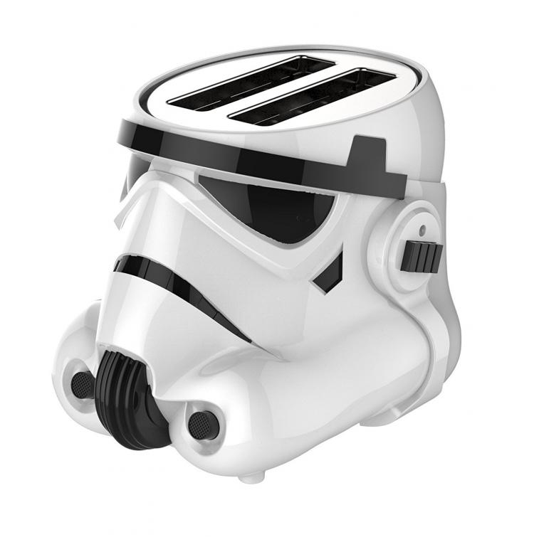 Star Wars Stormtrooper Toaster - Toasts the Galactic Empire Logo Onto The Bread