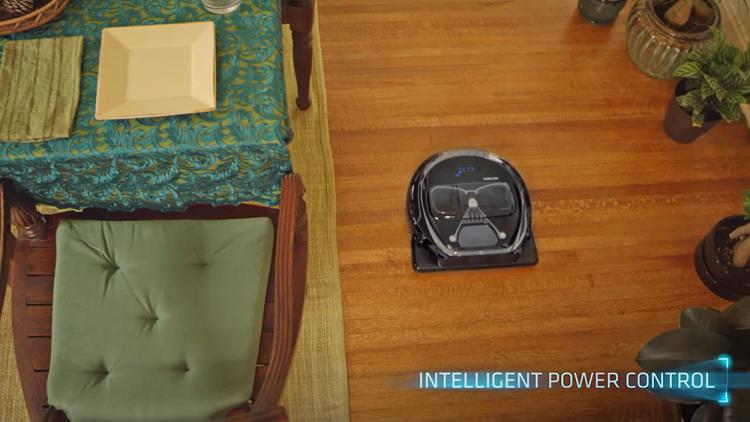 Star Wars Themed Robotic Home Vacuums - Samsung Darth Vader Home Robot Vacuum