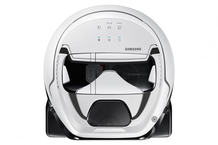 Star Wars Themed Robotic Home Vacuums - Samsung Stormtrooper Home Robot Vacuum