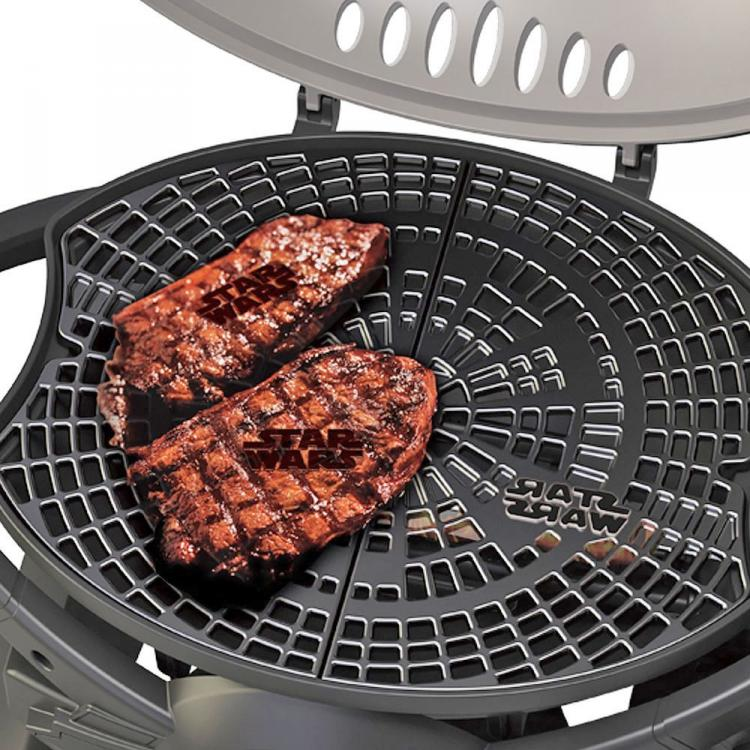 Star Wars TIE Fighter Gas BBQ Grills The Star Wars Logo On Your Food