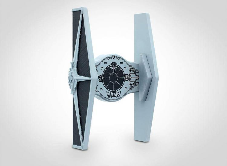 Star Wars Tie Fighter Smart Phone Car Mount - Tie fighter phone holder for the car