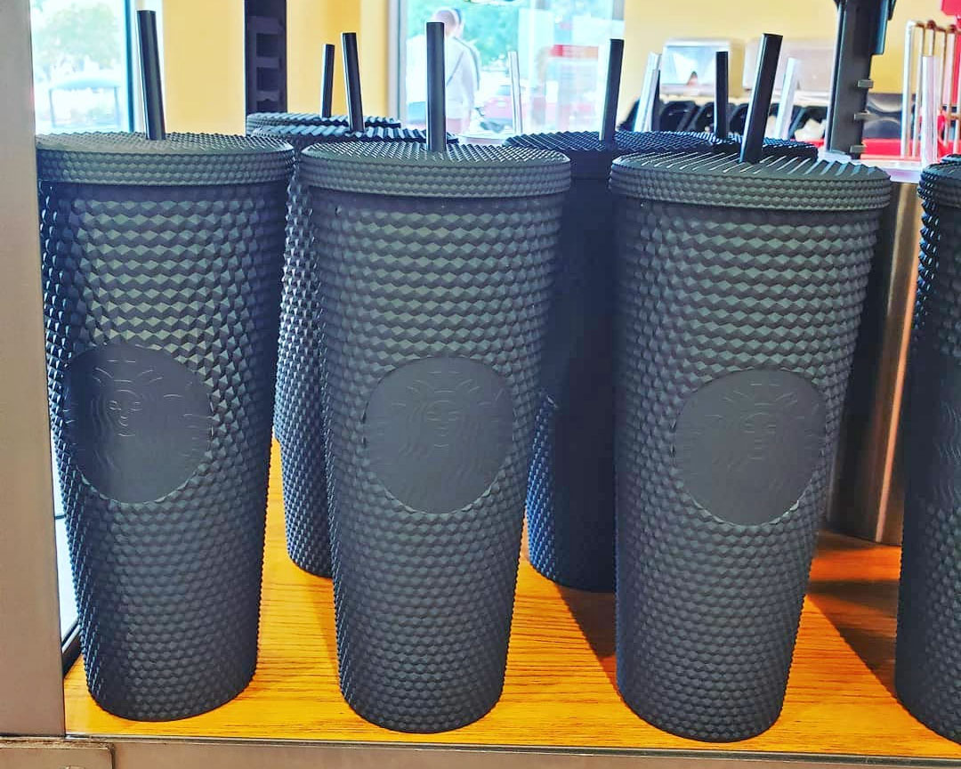 Starbucks Black Matte Spiky Cup