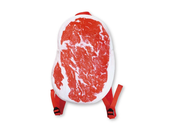 Steak Backpack - Giant Slab Of Meat Backpack - From Japan