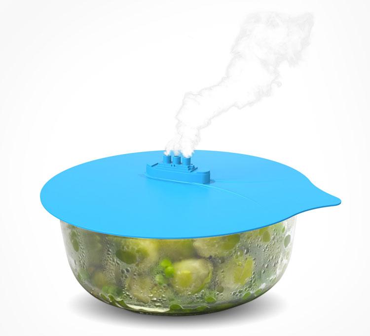 Steam Ship Pot Cover Steamer