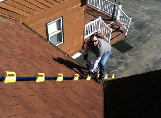 Goat Steep Assist Roof Ladder - Tool to safely access and work on roof - Best roof inspection ladder