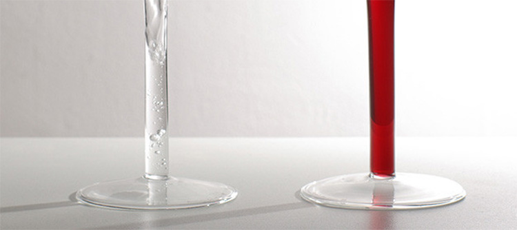 Stem Fillable Wine Glasses - Emotion Wine Glasses