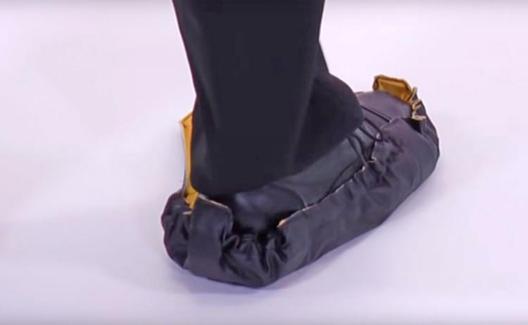 Step In Sock Shoe Covers - Automatic work shoe covers