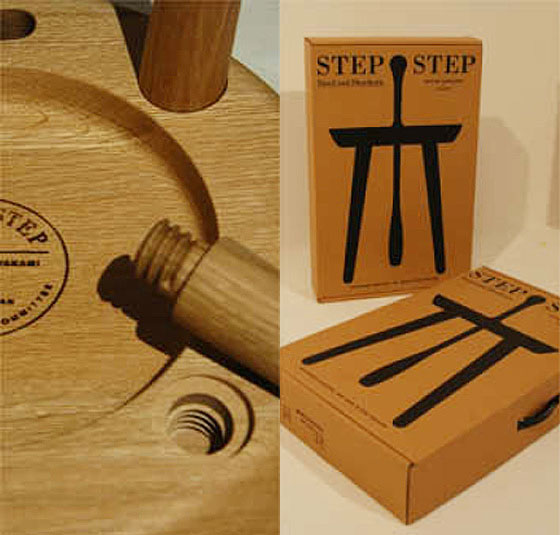 Step Step Shoehorn Stool