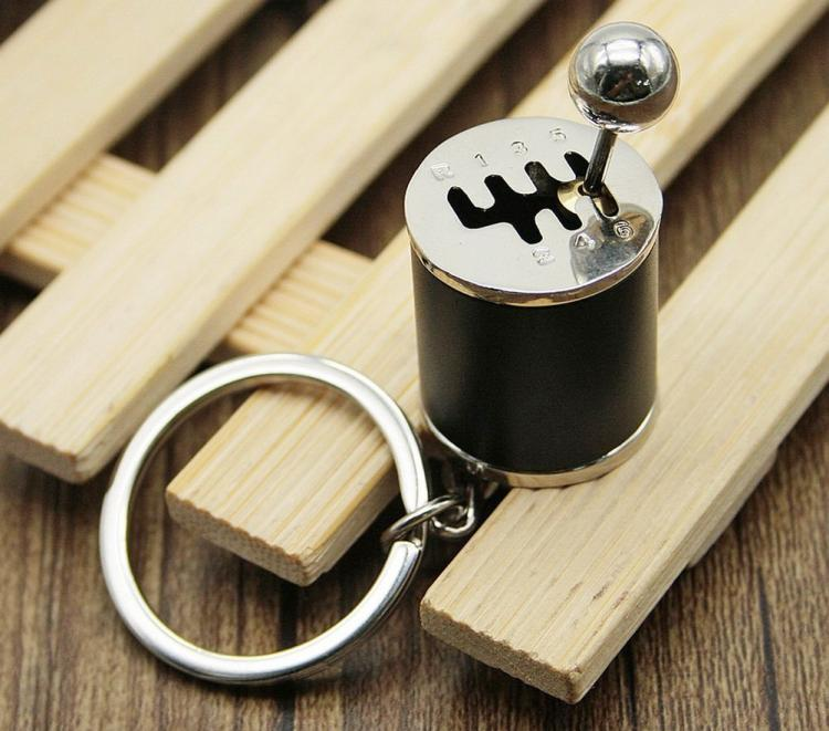 Car Stick Shifter Fidget Toy Key-Chain - 3D Gear shifter replica toy